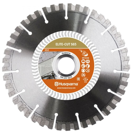 Алмазный диск ELITE-CUT S65 (S1465) 400-25,4 HUSQVARNA 5798119-30 (бетон,ж/бетон,кирпич,абразив)